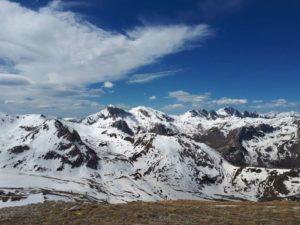 Il panorama dalla vetta del Mondolè